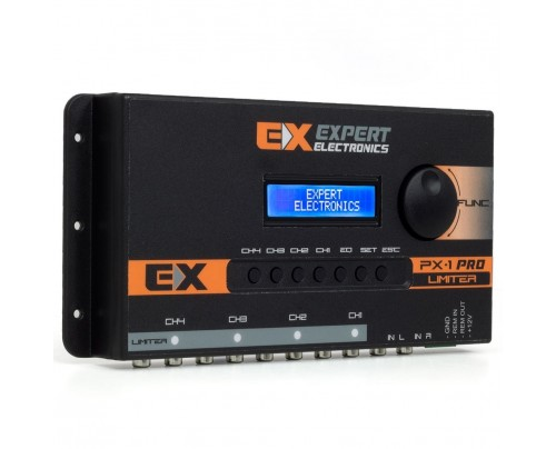 Processador de Audio Banda Expert Electronics PX1 Pro Limiter 4 Vias, Equalizador 28 Bandas