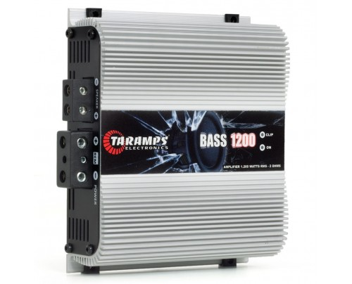 Módulo Amplificador Digital Taramps Bass 1200 - 1 Canal - 1200 Watts RMS - 2 Ohms