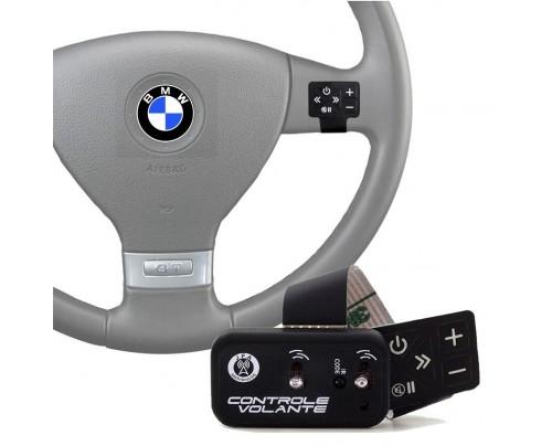 Controle Remoto de Volante JFA para Som Automotivo Preto via IR