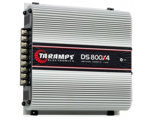 Módulo Amplificador Digital Taramps DS800x4 - 4 Canais - 800 Watts RMS
