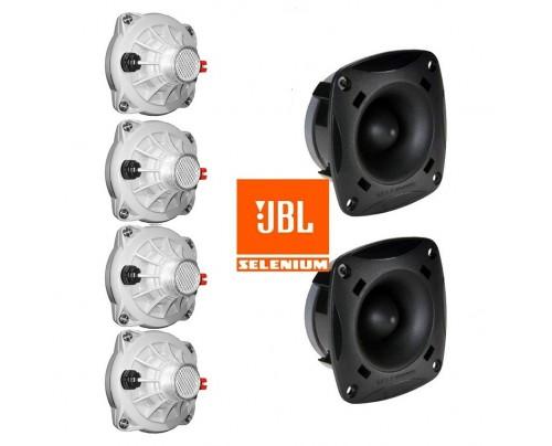 Kit JBL Selenium - 4 Driver p/ Corneta D250X + 2 ST200
