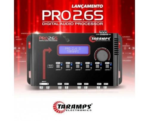 Processador Taramps PRO 2.6S Digital - 6 Vias - 24db 8ª