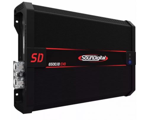 Módulo Amplificador Digital SounDigital SD6500.1D Evolution II EVO 2 - 1 Canal - 6920 Watts RMS