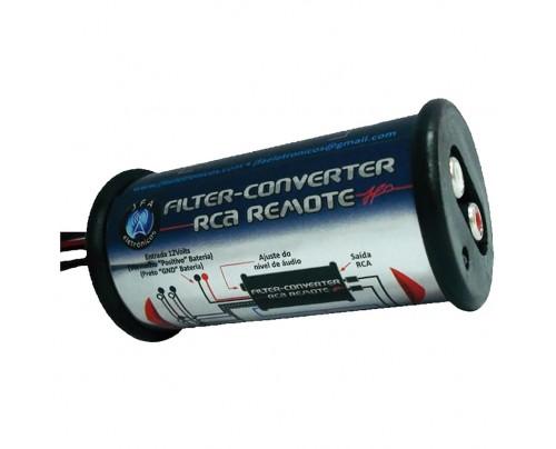 Conversor RCA JFA com Filtro Anti Ruído Integrado