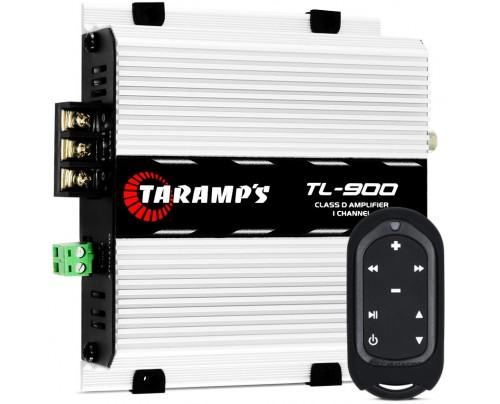 Kit Taramps - Módulo Amplificador Taramps TL900 + Controle Longa Distância TLC 3000