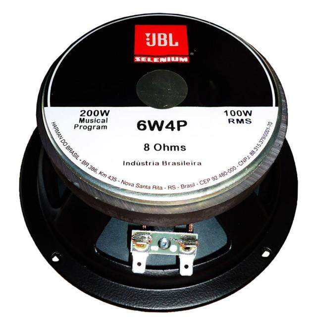 Woofer Jbl Selenium 6w4p 6 Polegadas 100 Watts Rms