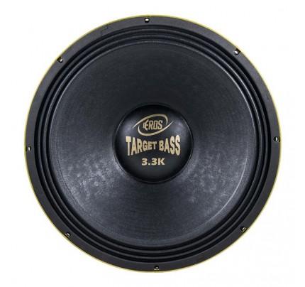 Alto Falante Eros 18 Pol 1650w Rms Target Bass 3.3K