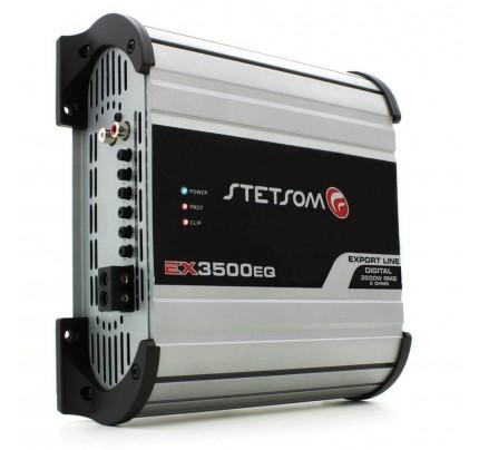 Módulo Amplificador Digital Stetsom EX3500EQ - 1 Canal - 4000 Watts RMS