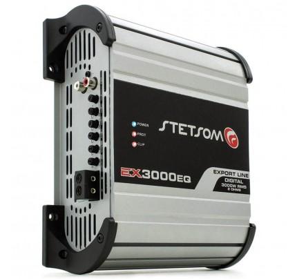 Módulo Amplificador Digital Stetsom EX3000EQ - 1 Canal - 3600 Watts RMS