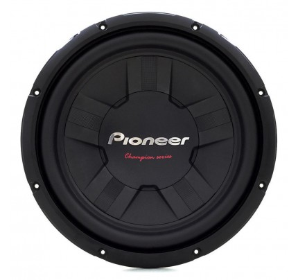 "Subwoofer 12"" Pioneer Champion Series TS-W311S4 - 400 Watts RMS"