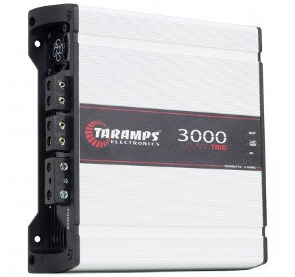 Módulo Amplificador Digital Taramps 3000 Trio - 1 Canal com 2 Vias 4 Ohms - 3000 Watts RMS