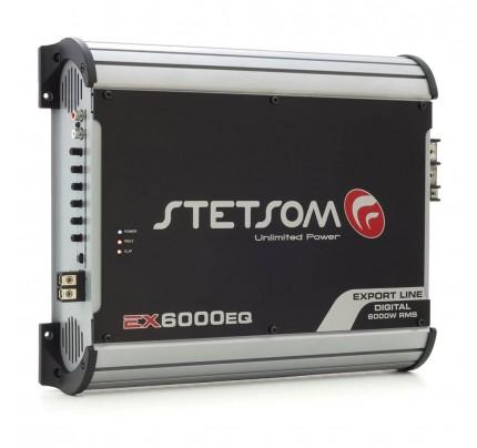 Módulo Amplificador Digital Stetsom EX6000EQ - 1 Canal - 6700 Watts RMS