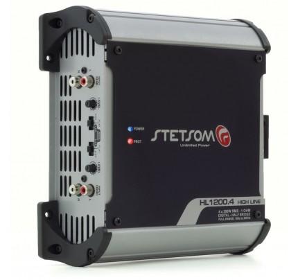 Módulo Amplificador Digital Stetsom HL1200.4 Canais - 1280 Watts RMS 2 Ohms