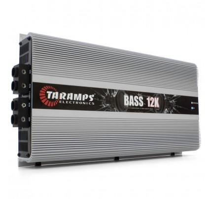 Módulo Amplificador Digital Taramps Bass 12K - 1 Canal - 12000 Watts RMS