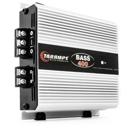 Módulo Amplificador Digital Taramps Bass 400 - 1 Canal - 400 Watts RMS