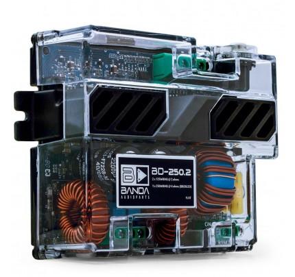Módulo Amplificador Digital Banda BD 250.2 Canais - 250 Watts RMS - 2 Ohms