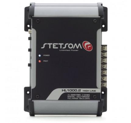 Módulo Amplificador Digital Stetsom HL1000.2 Canais - 1120 Watts RMS - 2 Ohms