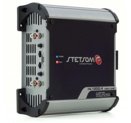 Módulo Amplificador Digital Stetsom HL1200.4 Canais - 1400 Watts RMS - 1 Ohm