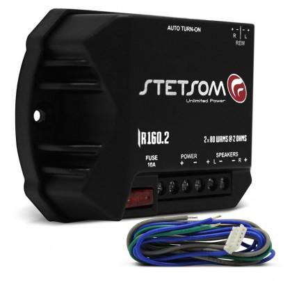 Módulo Amplificador Stetsom Iron Line IR160.2 - 160 Watts RMS 2 Canais Digital