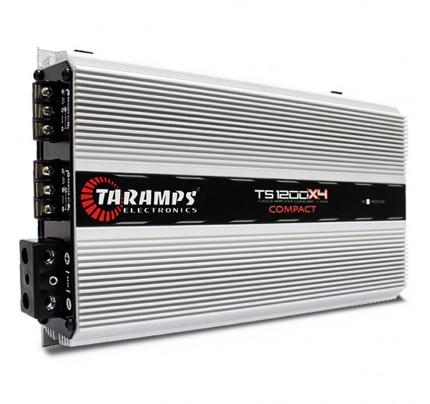Módulo Amplificador Taramps TS1200X4 Compact 4 Canais - 1440 Watts RMS