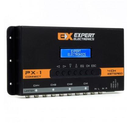 Processador de Audio Banda Expert Electronics PX1 Connect 4 Vias, Equalizador 28 Bandas