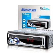 MP3 Player Automotivo Usb Silver Multilaser P3167 + FRETE GR�TIS