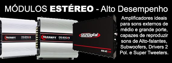 Amplificador Stéreo - Alto Desempenho