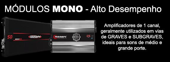 Amplificador mono - Acima de 3000 RMS