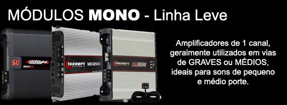 Amplificador Mono - Até 3000 RMS