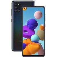 """Smartphone Samsung A21s Preto 64GB Android 10 Tela 6.5"""" Camera 13MP"""