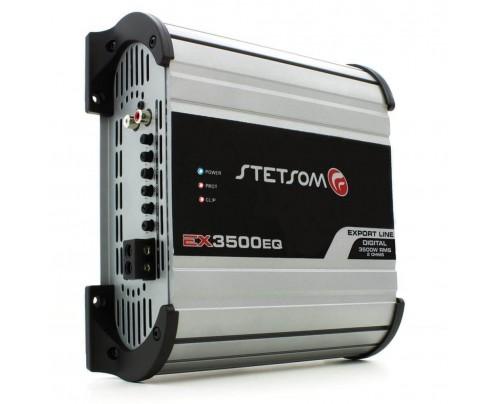 Módulo Amplificador Digital Stetsom EX3500EQ - 1 Canal - 4000 Watts RMS 2 Ohms