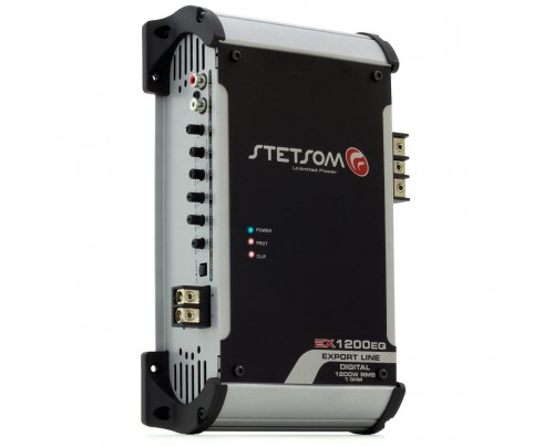 Módulo Amplificador Digital Stetsom EX1200EQ - 1 Canal - 1350 Watts RMS 2 Ohms