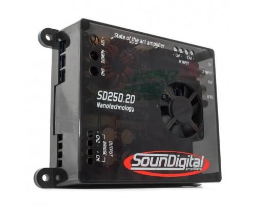 Módulo Amplificador Digital SounDigital SD250.2D - 2 Canais - 300 Watts RMS