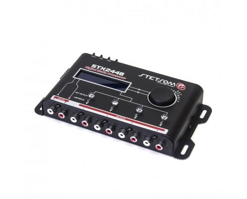 Processador de Audio Digital Stetsom STX2448 - 4 Vias - Crossover Dinâmico e Equalizador 15 Bandas