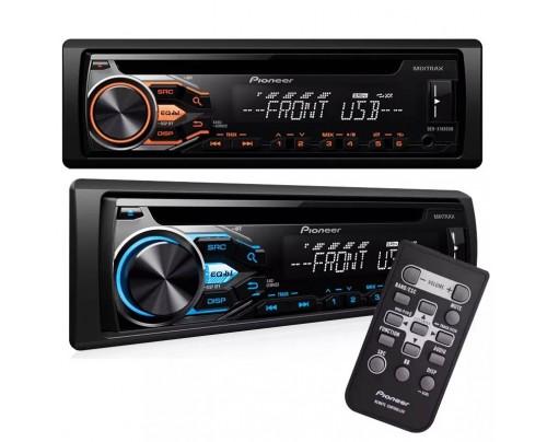 CD Player Automotivo Pioneer com Entrada USB, Rádio FM/AM, Interface para Android e Entrada Auxiliar Frontal