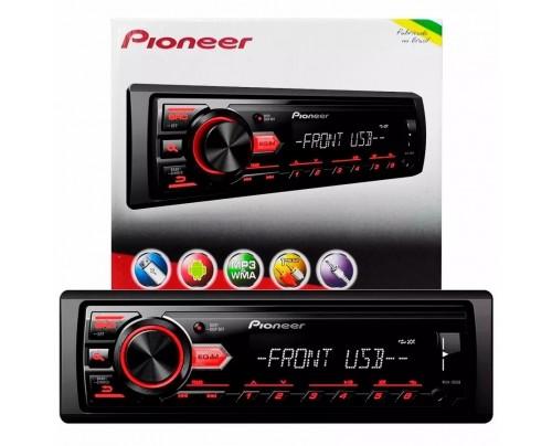 Som Automotivo Media Receiver Pioneer MP3 AM/FM com Entrada USB
