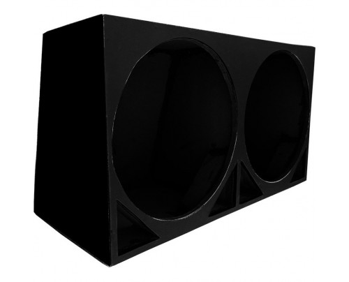Caixa Dutada Infinity Bass Slim 18 Pol para Woofers e Subwoofers de até 3000 RMS cada - Cores variadas