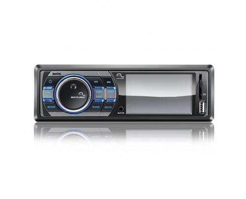 Media Player Multilaser P3180 Rock Wide Tela 3 Polegadas - USB, SD e Aux
