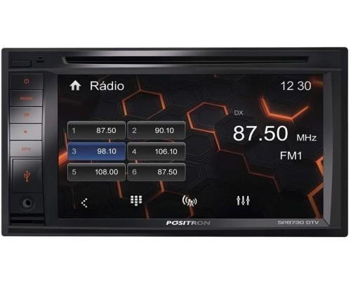 Central Multimídia Tv Digital E Bluetooth, Pósitron, 13025000