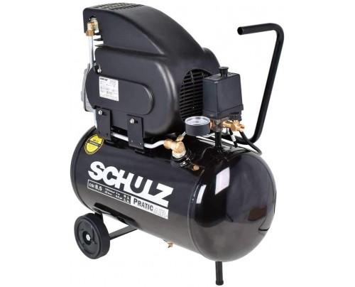 Compressor De Ar 8,5 Pés Pratic Air Csi 8,5/25l Schulz - 220 v