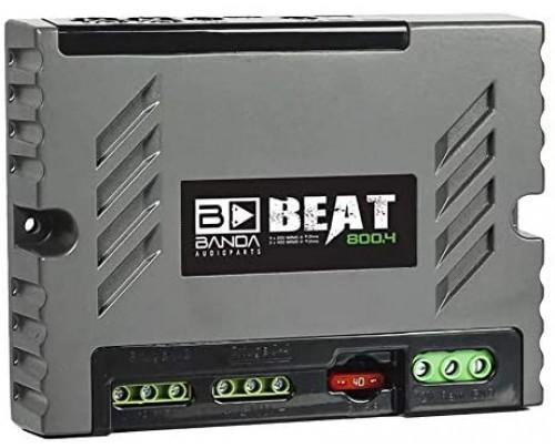 Módulo Amplificador Banda Beat 800.4 2 Ohms 4 Canais 800w