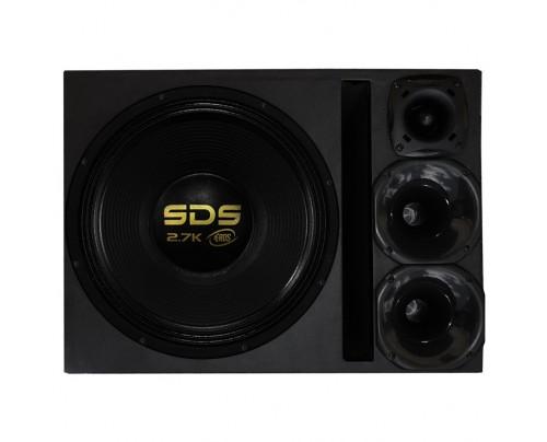 Caixa Trio com Eros SDS 2.7K 15 Polegadas + 2 JBL Selenium D250X + ST200