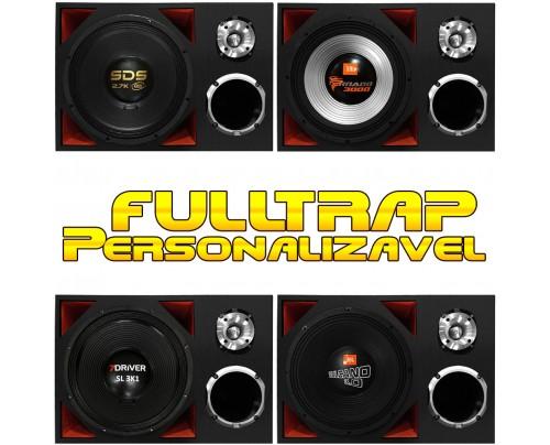 Caixa Full Trap 15 Pol + Driver 2 Pol. + ST Personalizável MOD. 1