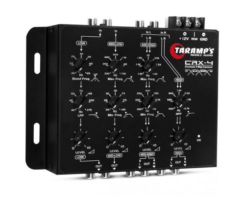 Crossover Eletrônico De 4 Vias Taramps CRX 4