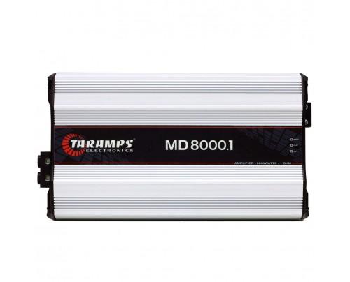 Módulo Amplificador Digital Taramps MD 8000 - 1 Canal - 8000 Watts RMS - 2 Ohm
