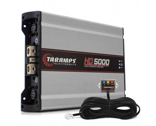 Módulo Amplificador Digital Taramps HD5000 - 5997 Watts RMS