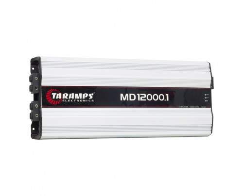 Módulo Amplificador Digital Taramps MD 12000 - 1 Canal - 12000 Watts RMS - 1 Ohm
