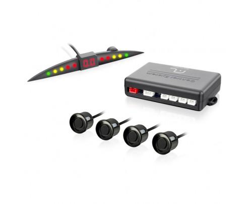 Sensor de Estacionamento Multilaser 4 Pontos com LED - AU010