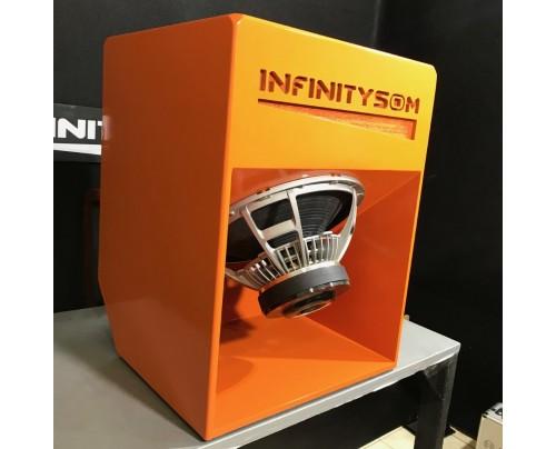 Caixa de graves e subgraves T18 INFINITY + JBL Vulcano 3.8 18