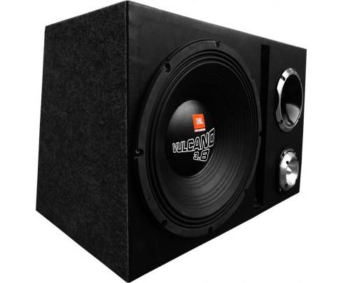 Caixa SUPER Trio JBL Selenium 7000W Vulcano / Volcano 3.8 15 Pol. + D405 Trio Completa + ST400
